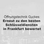 Einer der besten Schlüsseldienste in Frankfurt am Main